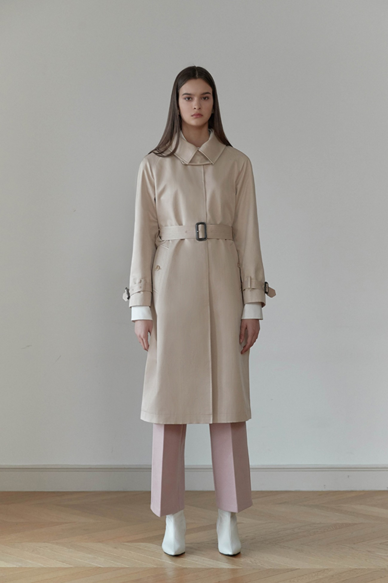 Trench Coat Altas Single Button